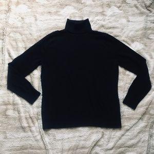 Like New lot of 2 Merona Turteneck sweaters XL L M